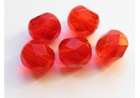 Fire polished beads